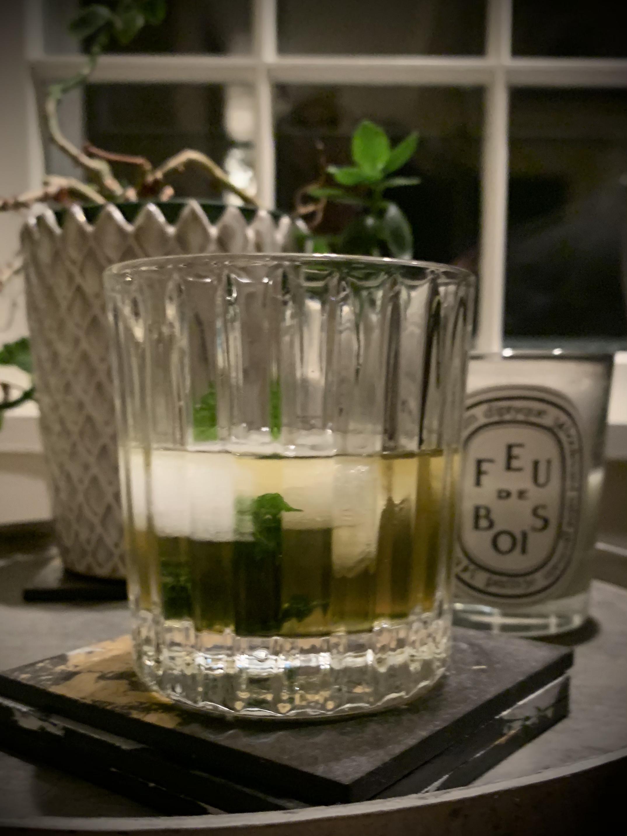 Brandy Smash Cocktail