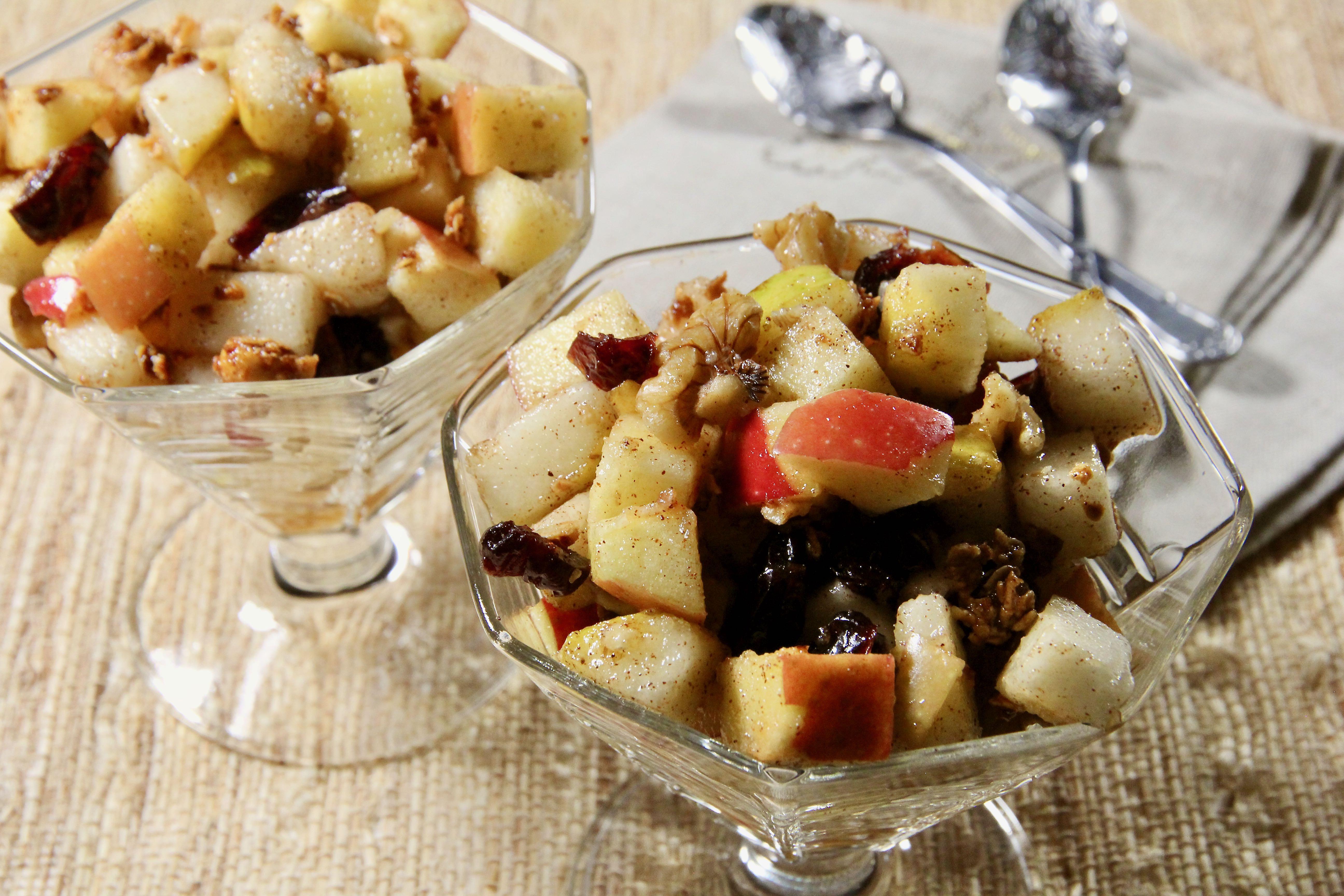 Fall Harvest Fruit Salad