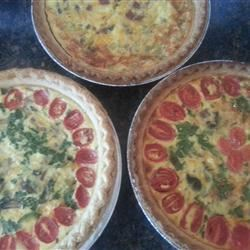 Easy Bacon and Cheese Quiche Dianajh73