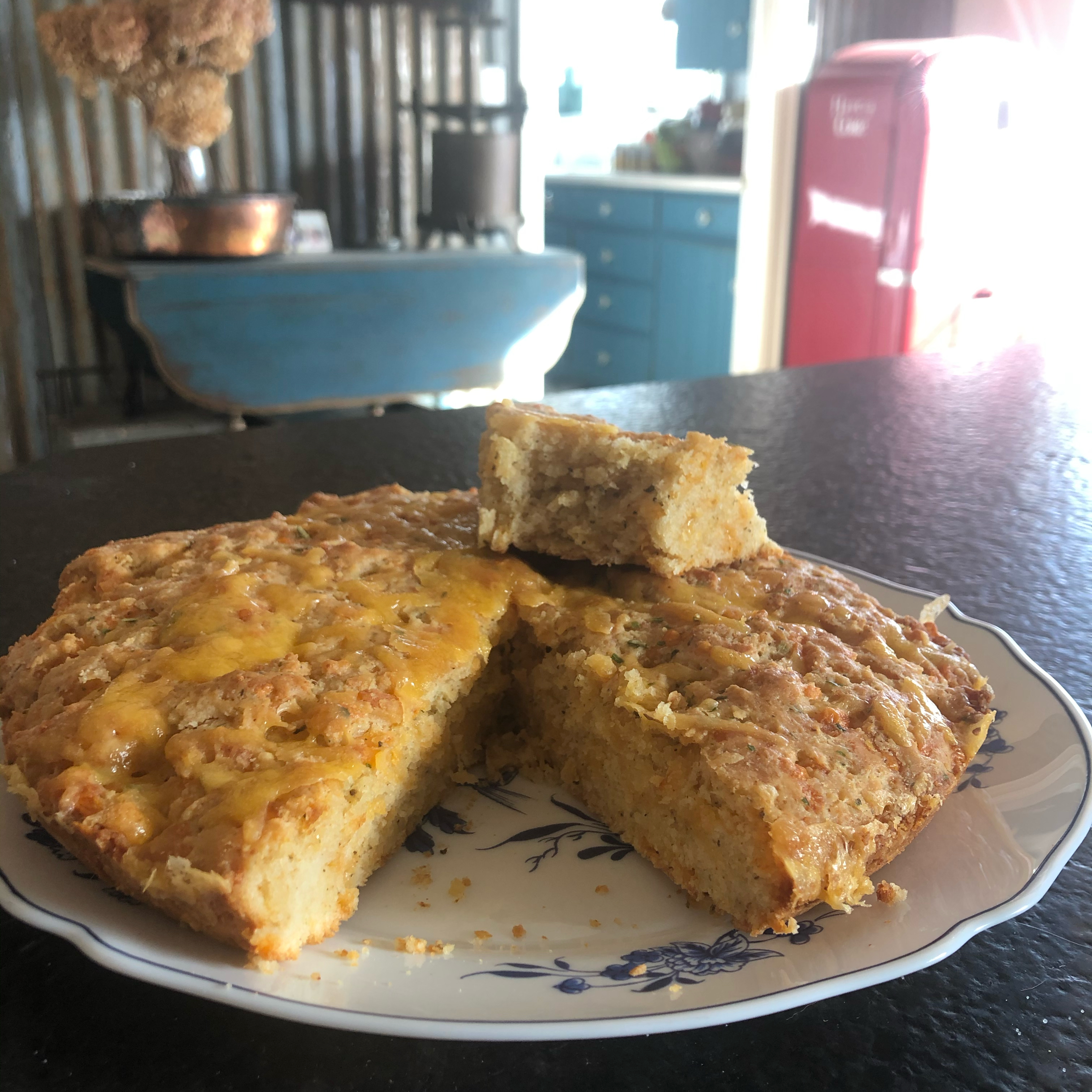 Spicy Cheese Quick Bread Aubree Rose