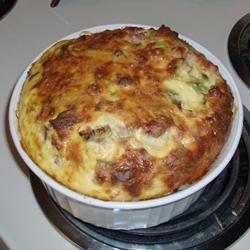 Baked Brunch Omelet Samantha Peters Clough