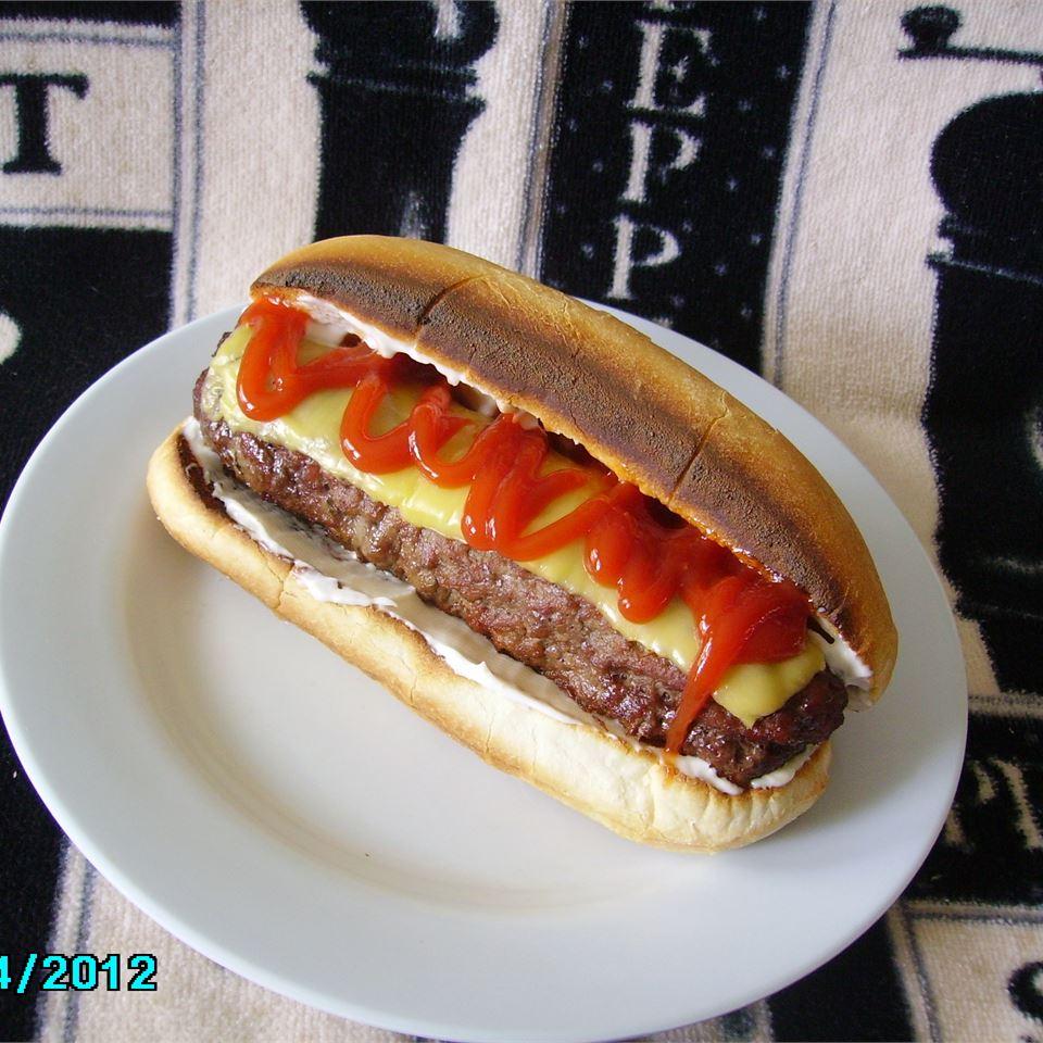All-American Burger Dog