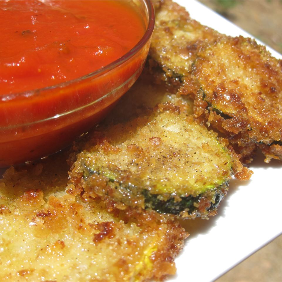 Easy Fried Zucchini Melissa Conger