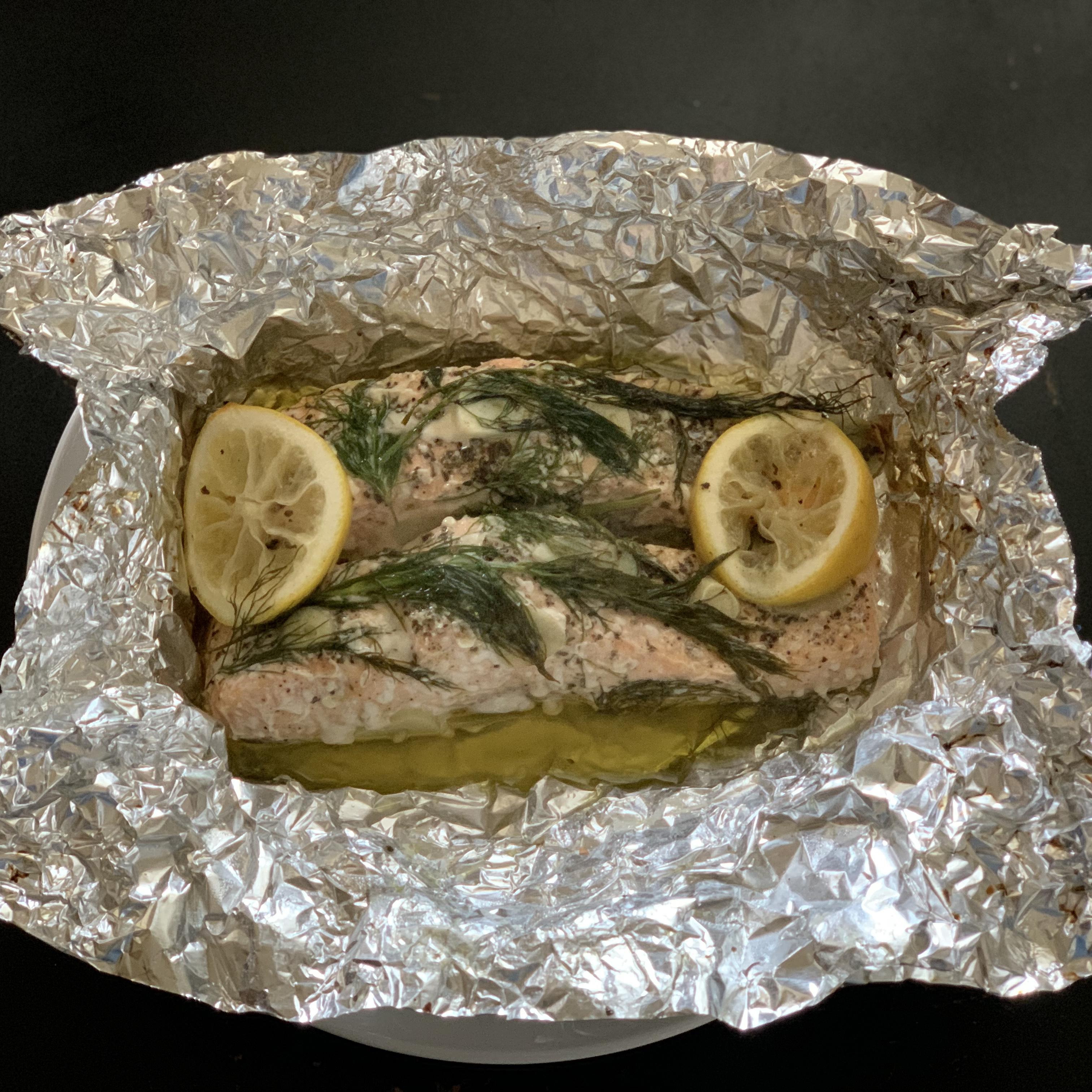 Baked Salmon II Elena