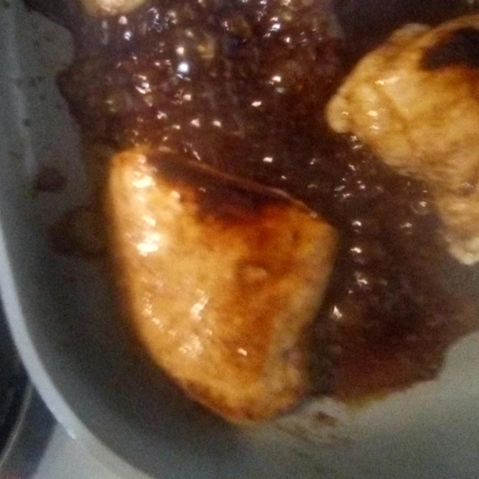 Apple Honey Glazed Chicken