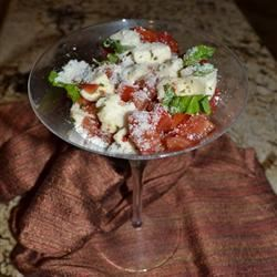 Smiling Caprese Salad