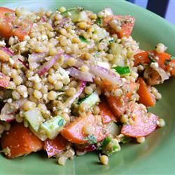 Heirloom Tomato Salad with Pearl Couscous Sarah