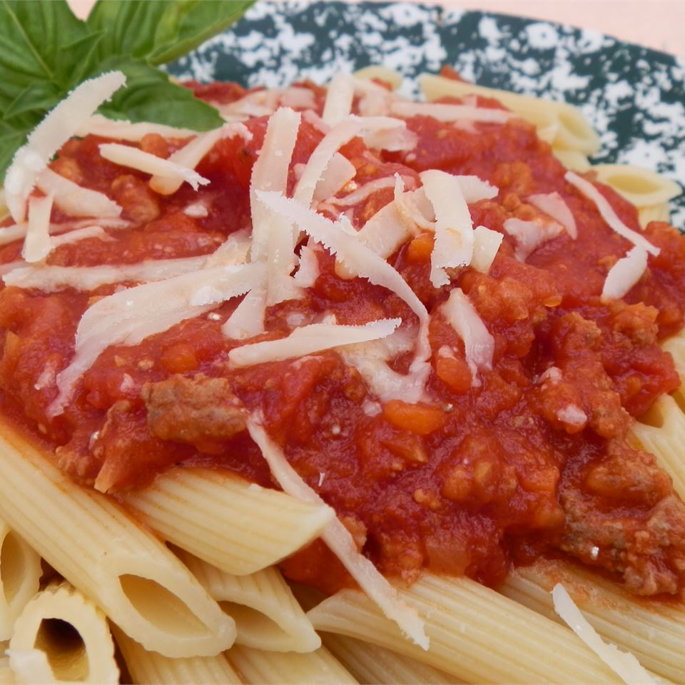 Tuscan Style Meat Sauce (Ragu Toscano) Kristin