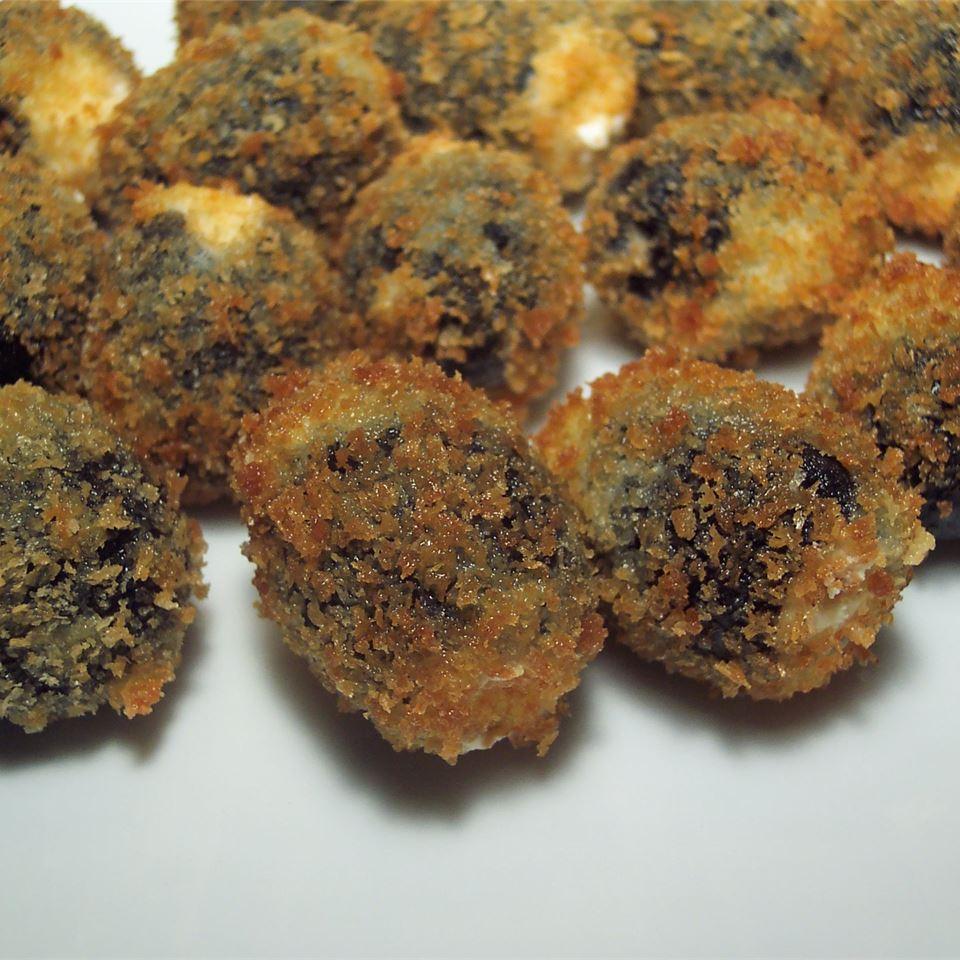 Fried Gorgonzola Olives