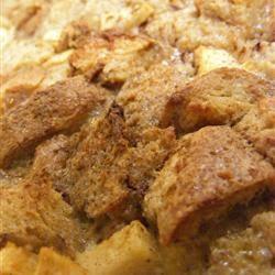 Gramma's Apple Bread Pudding