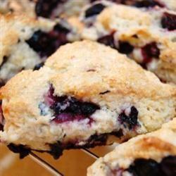 Blueberry Buttermilk Scones CHINER