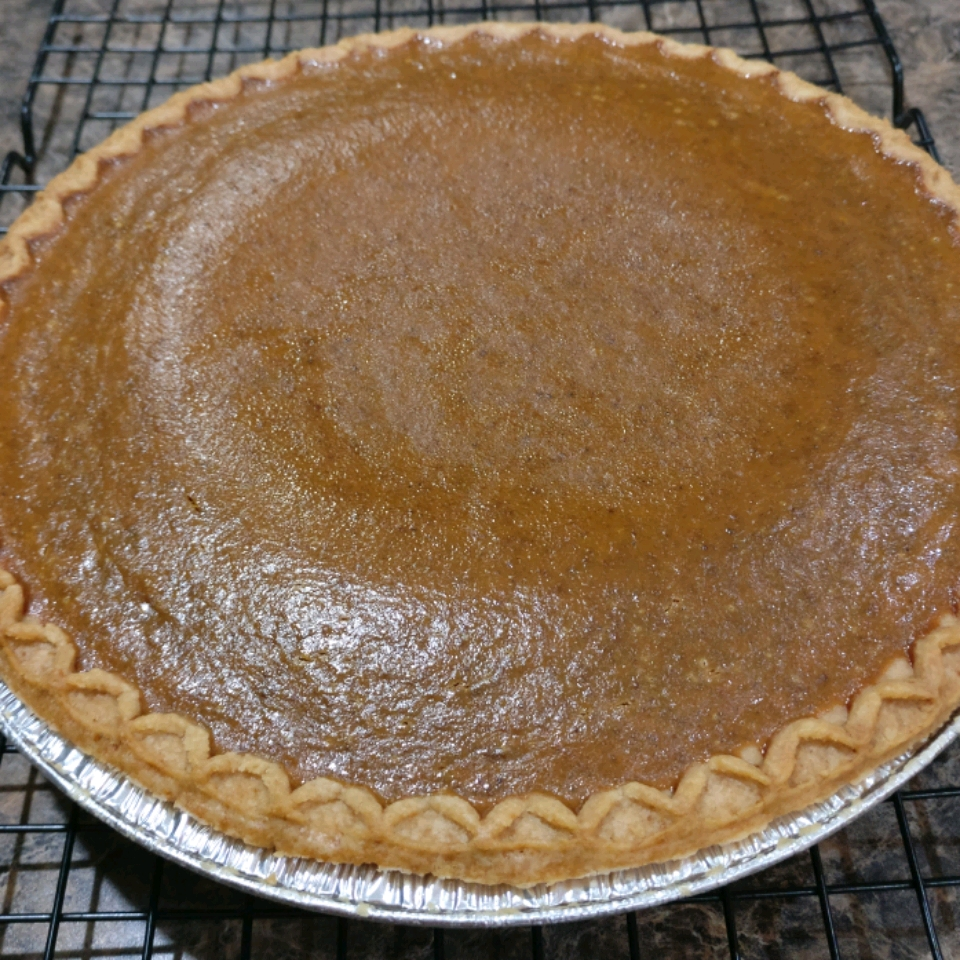 Mom's Spiced Pumpkin Pie Paul Edgette