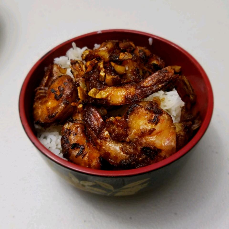 Hawaiian Garlic Shrimp Scampi John (Akran)