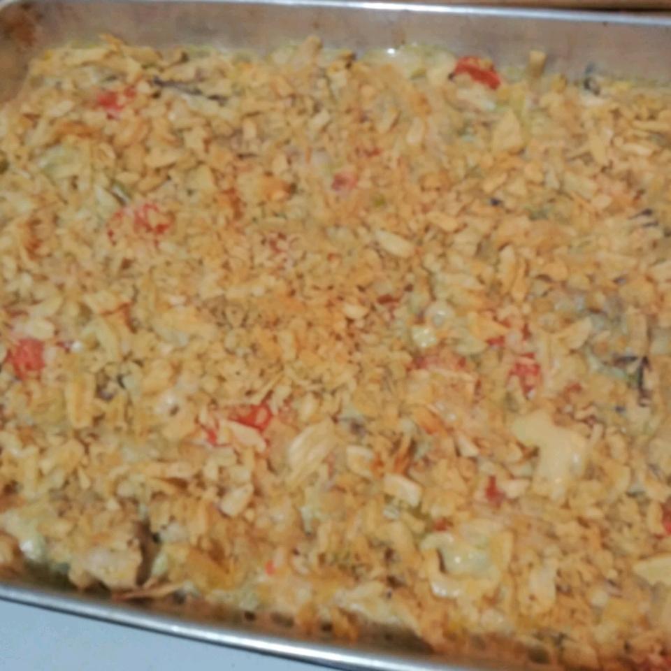 Chicken Noodle Casserole I Kelly Alden