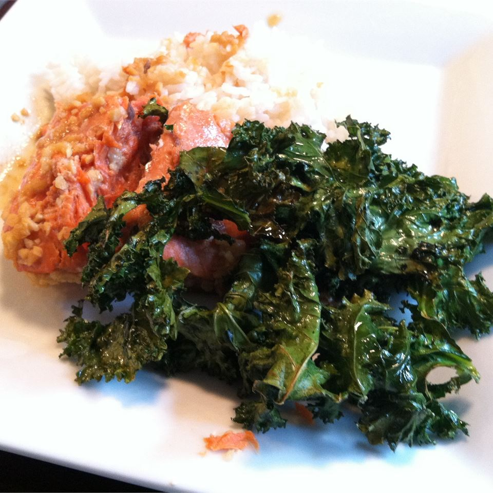 Kale Chips Theresa Peters