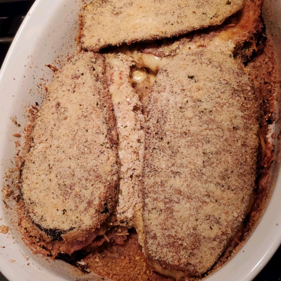 Eggplant Parmigiana with Margherita® Pepperoni Bettzy Montañez