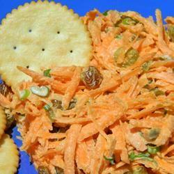 Carrot Salad with Golden Chardonnay Raisins