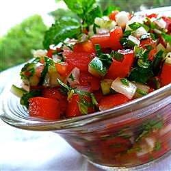 middle eastern tomato salad recipe