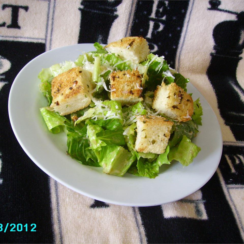 Almost Authentic Caesar Salad kholtzman