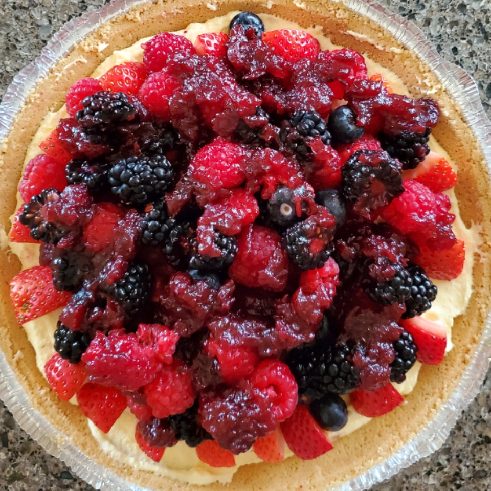 Double Berry Custard Pie Jeff Criswell