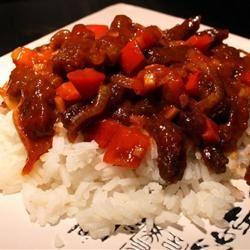 Spicy Crispy Beef ollka