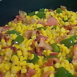 Skillet Fried Corn wannabe chefette