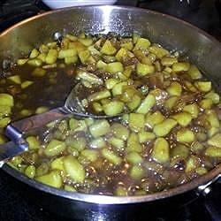 apple raisin compote recipe