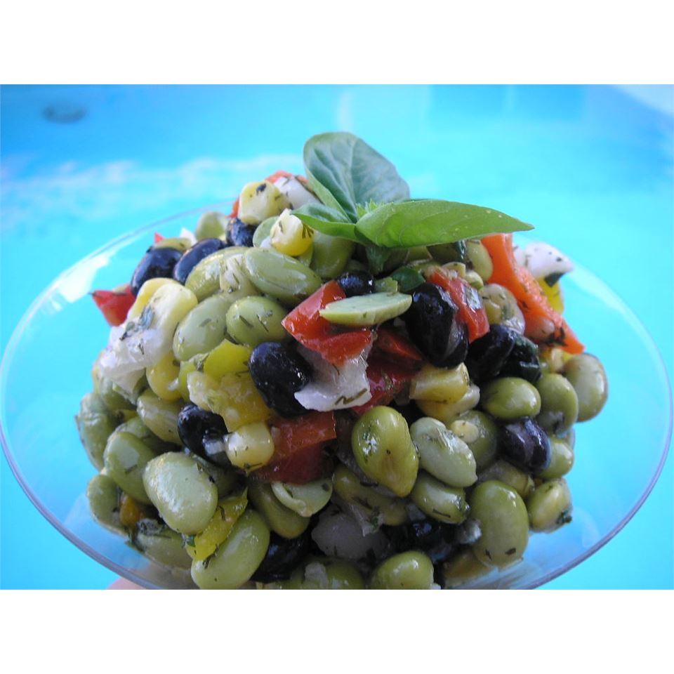 Quick Edamame Salad mauigirl