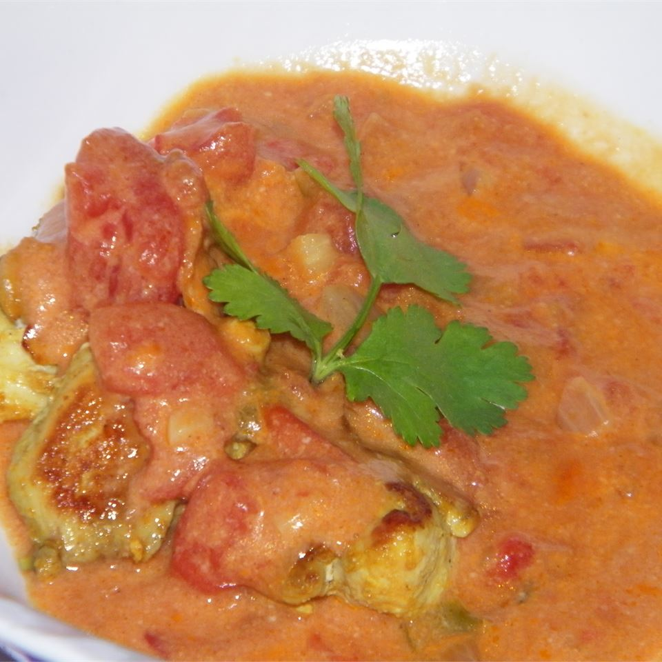 Brazilian Chicken with Coconut Milk