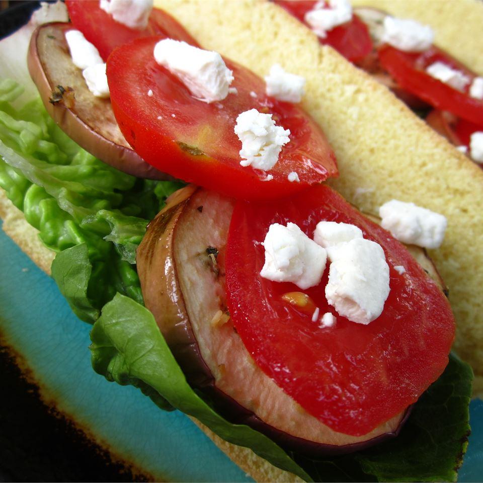 Eggplant Sandwiches pomplemousse