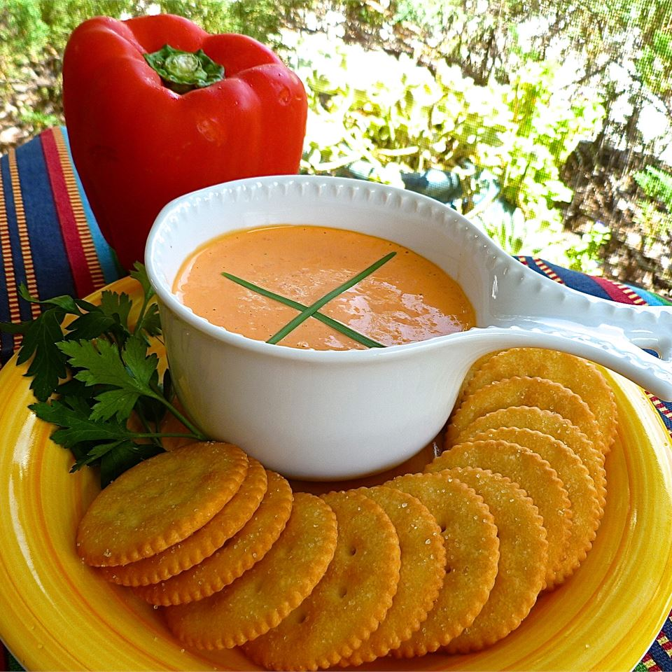 Easy Roasted Red Pepper Spread