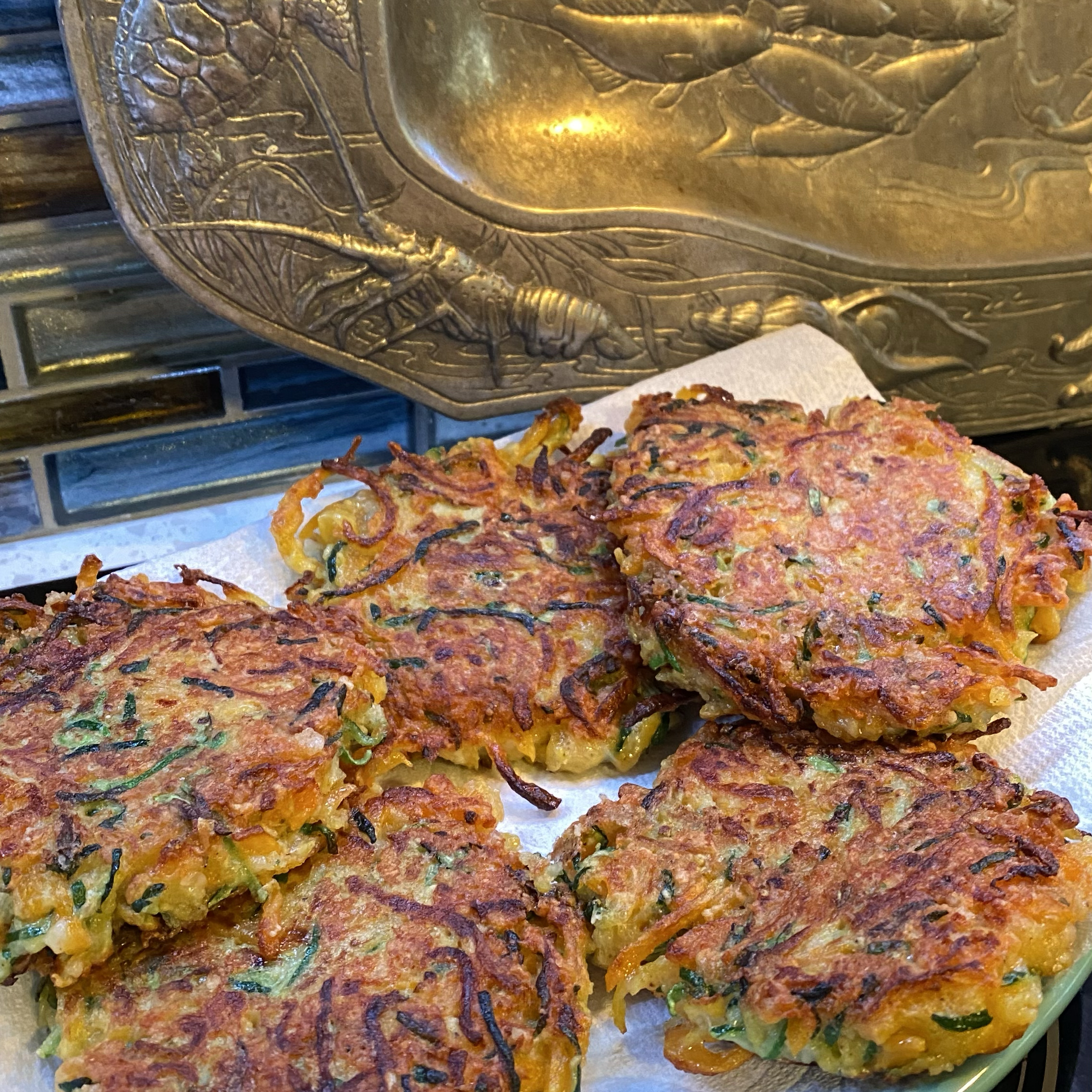Easy Zucchini Fritters Mary Unr