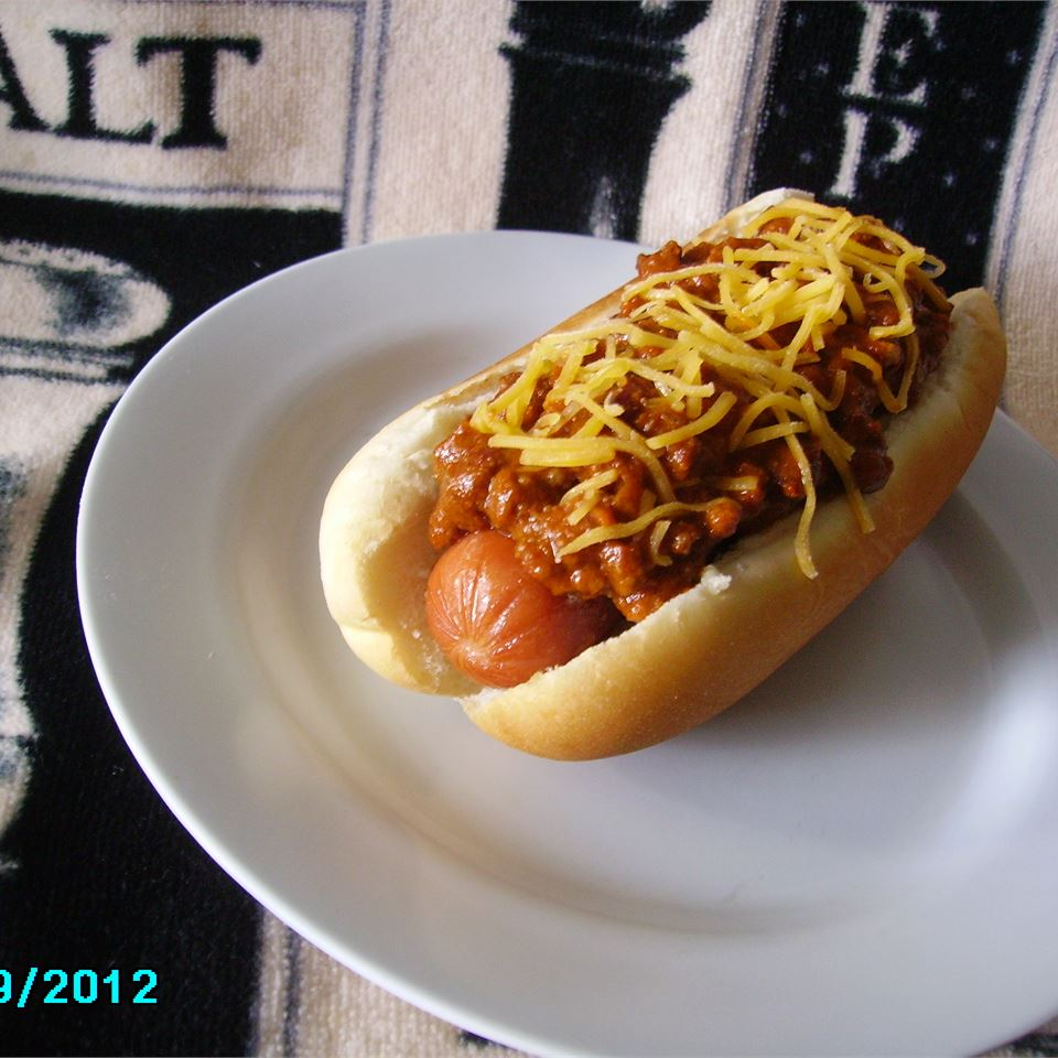 Hot Dog Chili for Chili Dogs