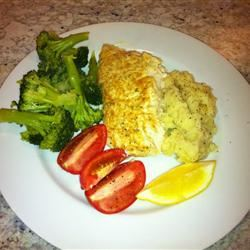 Broiled Grouper Parmesan Russ Neimy