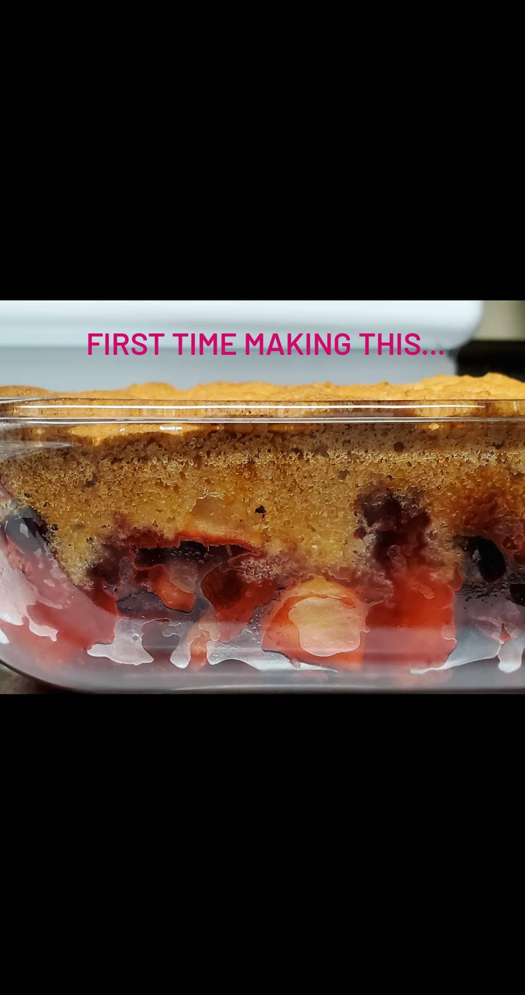 Apple-Cranberry Crumble Vangie F