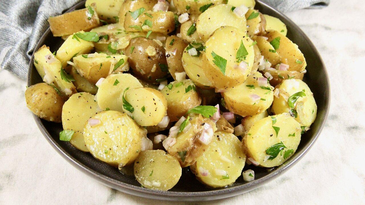 Simple Parisian-Style Potato Salad