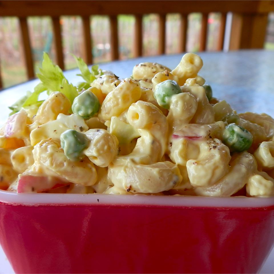 Lower Fat Amish Macaroni Salad
