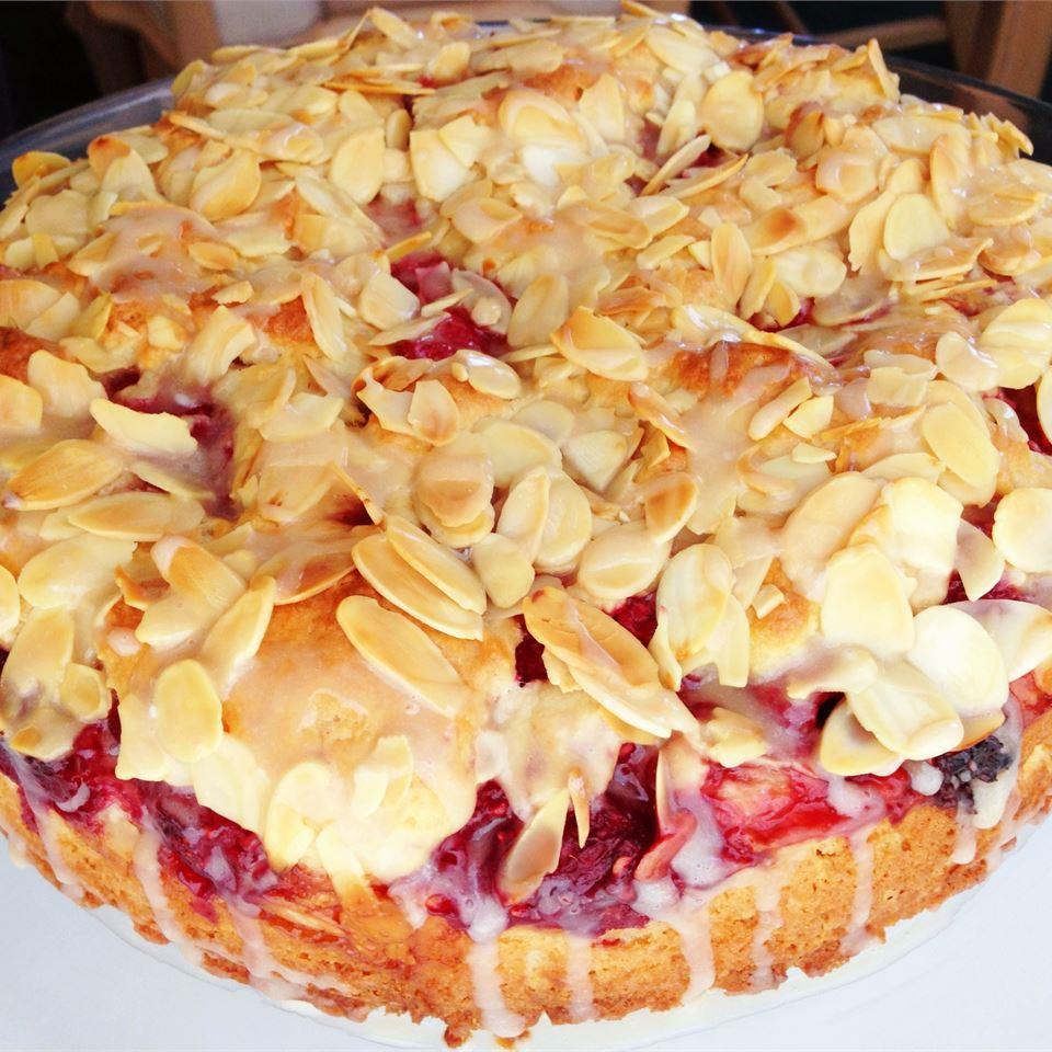 Raspberry Almond Coffeecake SilviaAna