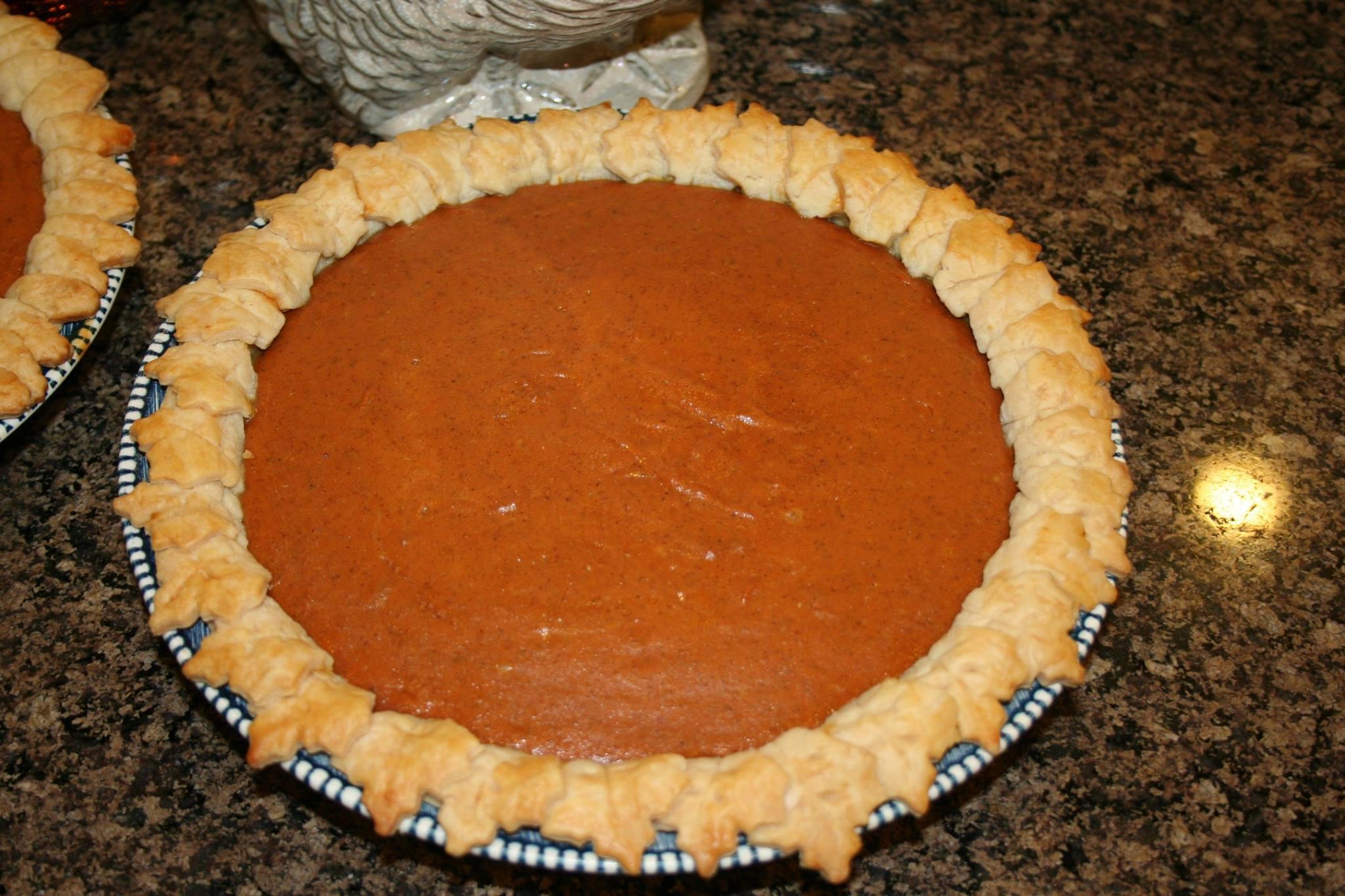 Spiced Pumpkin Pie Ms. Chef Esh