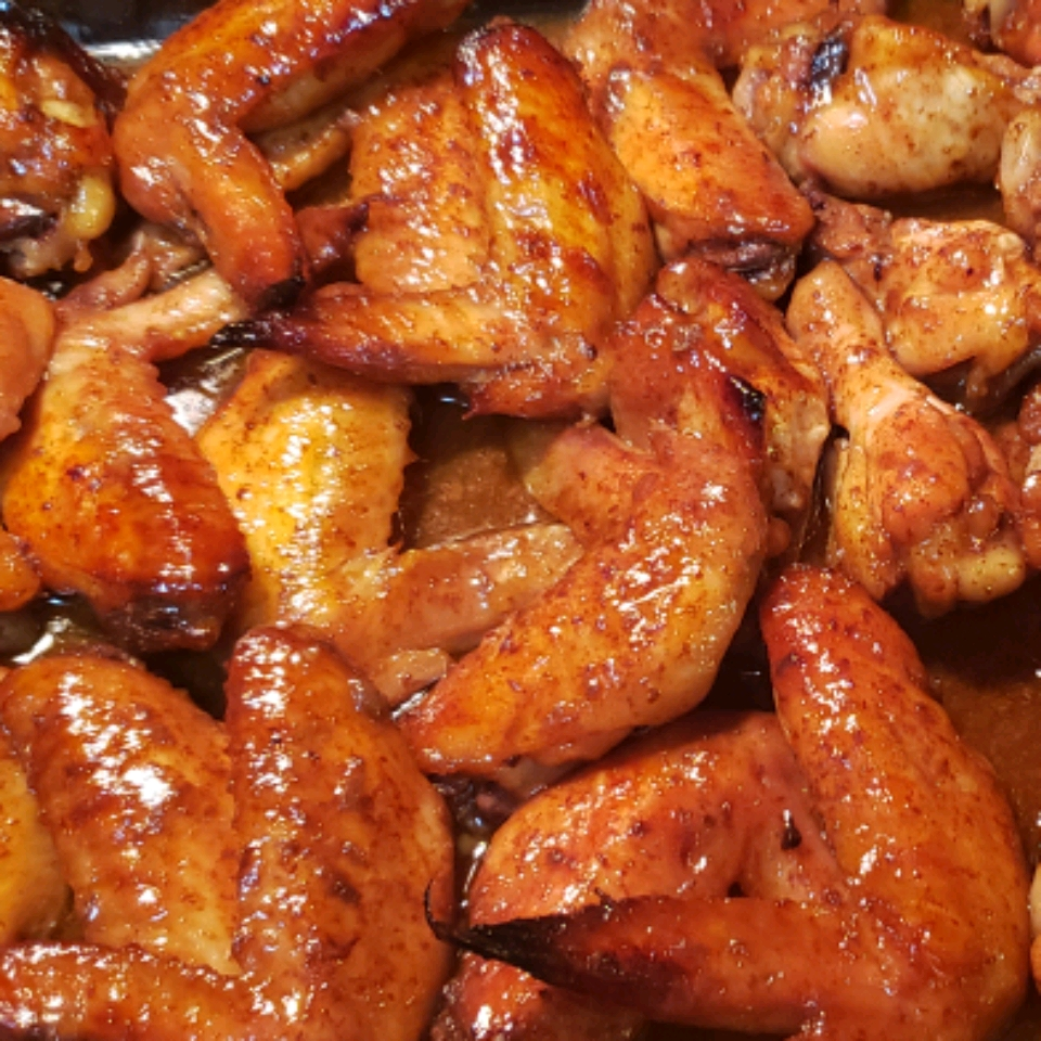 Simple Marinated Chicken Wings ljqin12