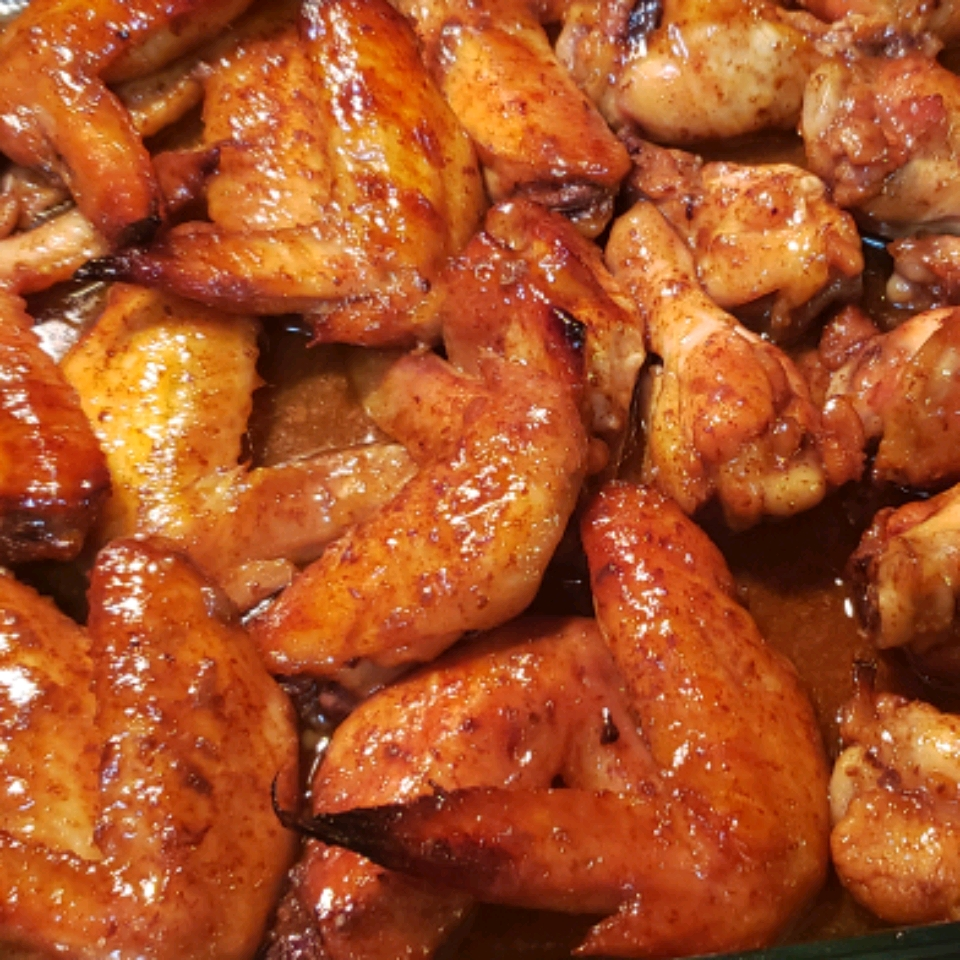 Simple Marinated Chicken Wings