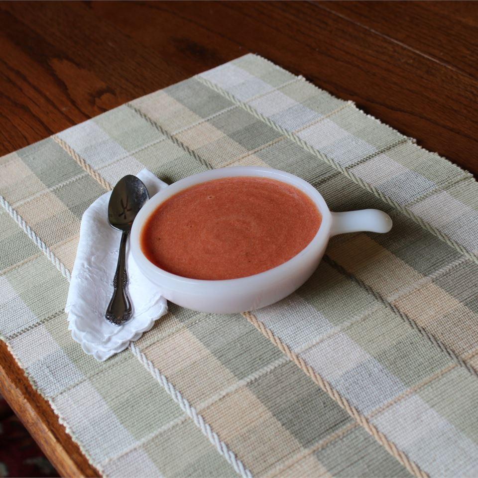 Low-Fat Cream of Tomato Soup
