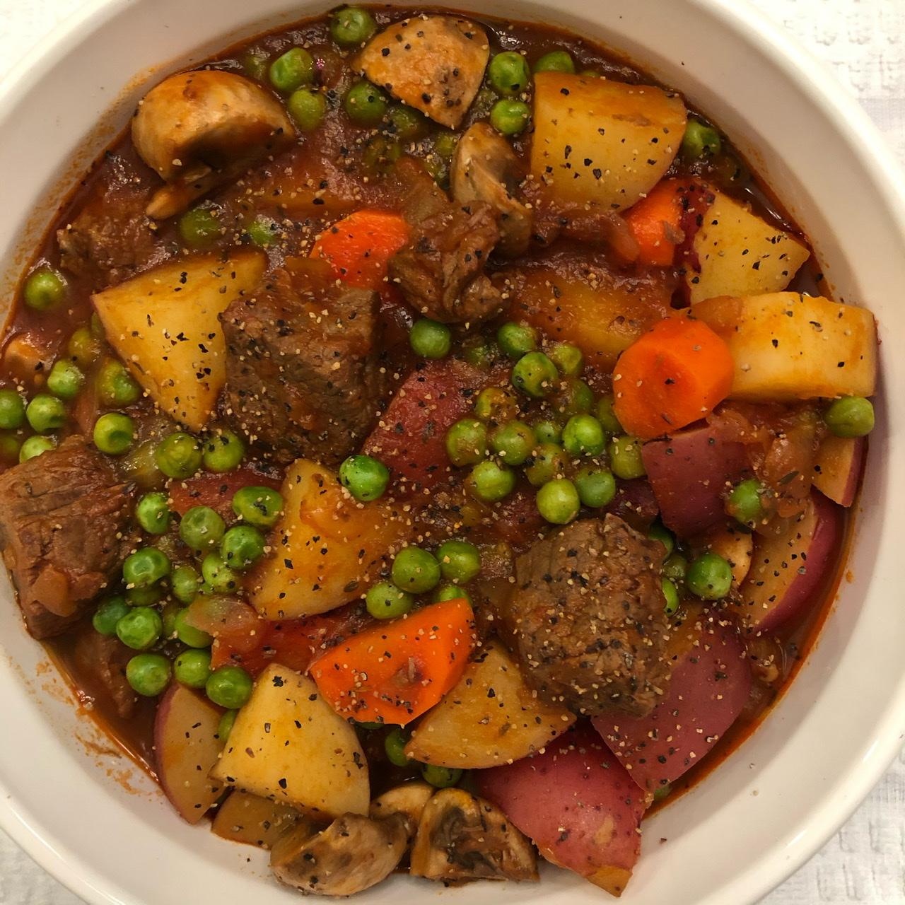 Beef and Vegetable Stew LGartner