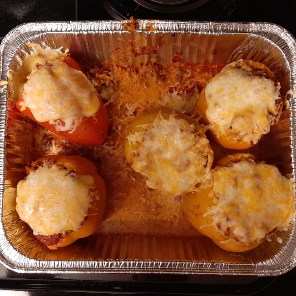 Taco Stuffed Peppers Becki