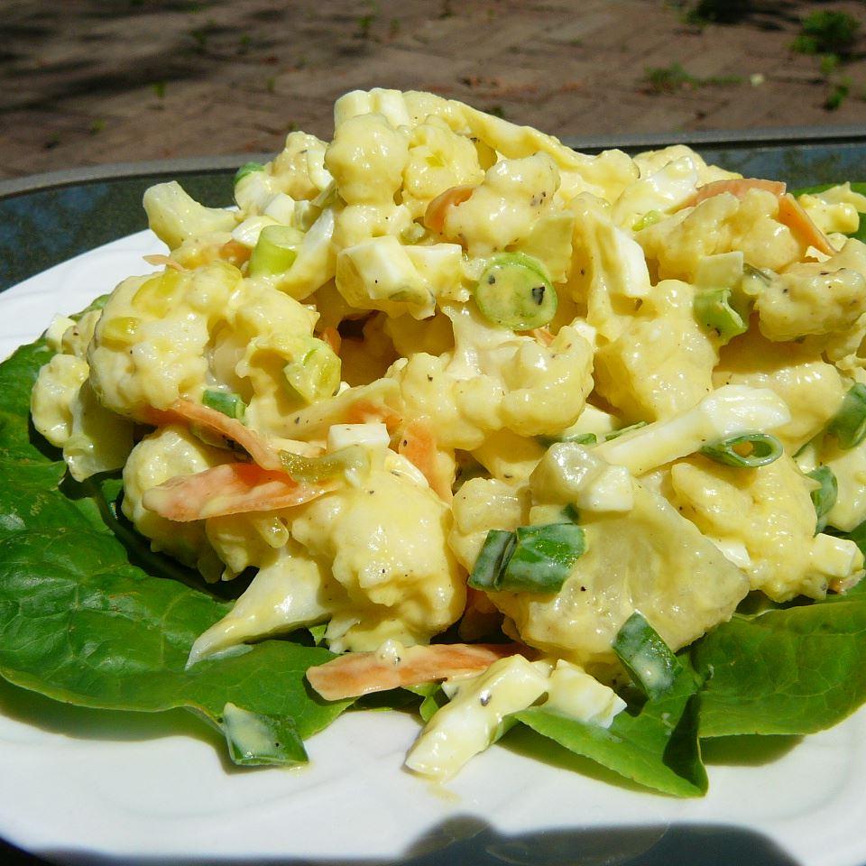 Cauliflower and Egg Salad