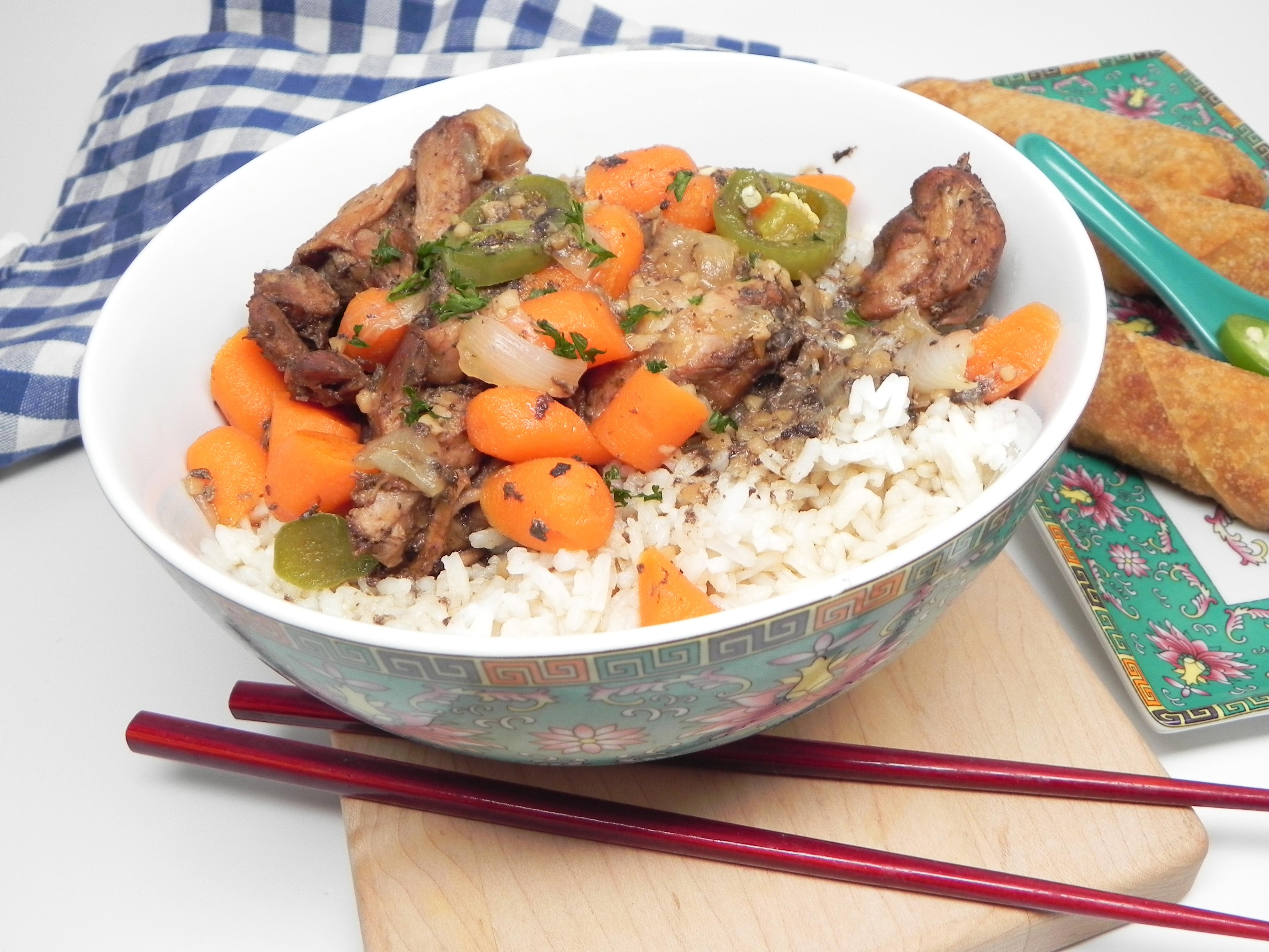 Dakjjim (Korean Chicken Stew)