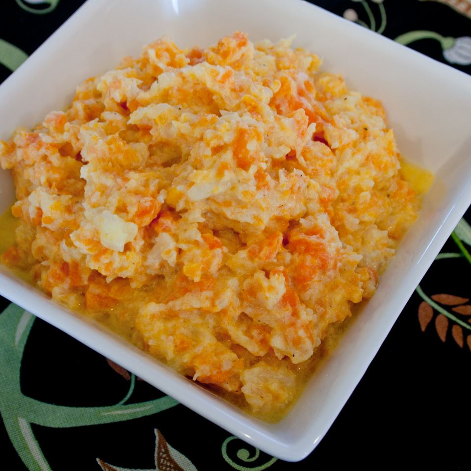 Mashed Cauliflower and Carrots