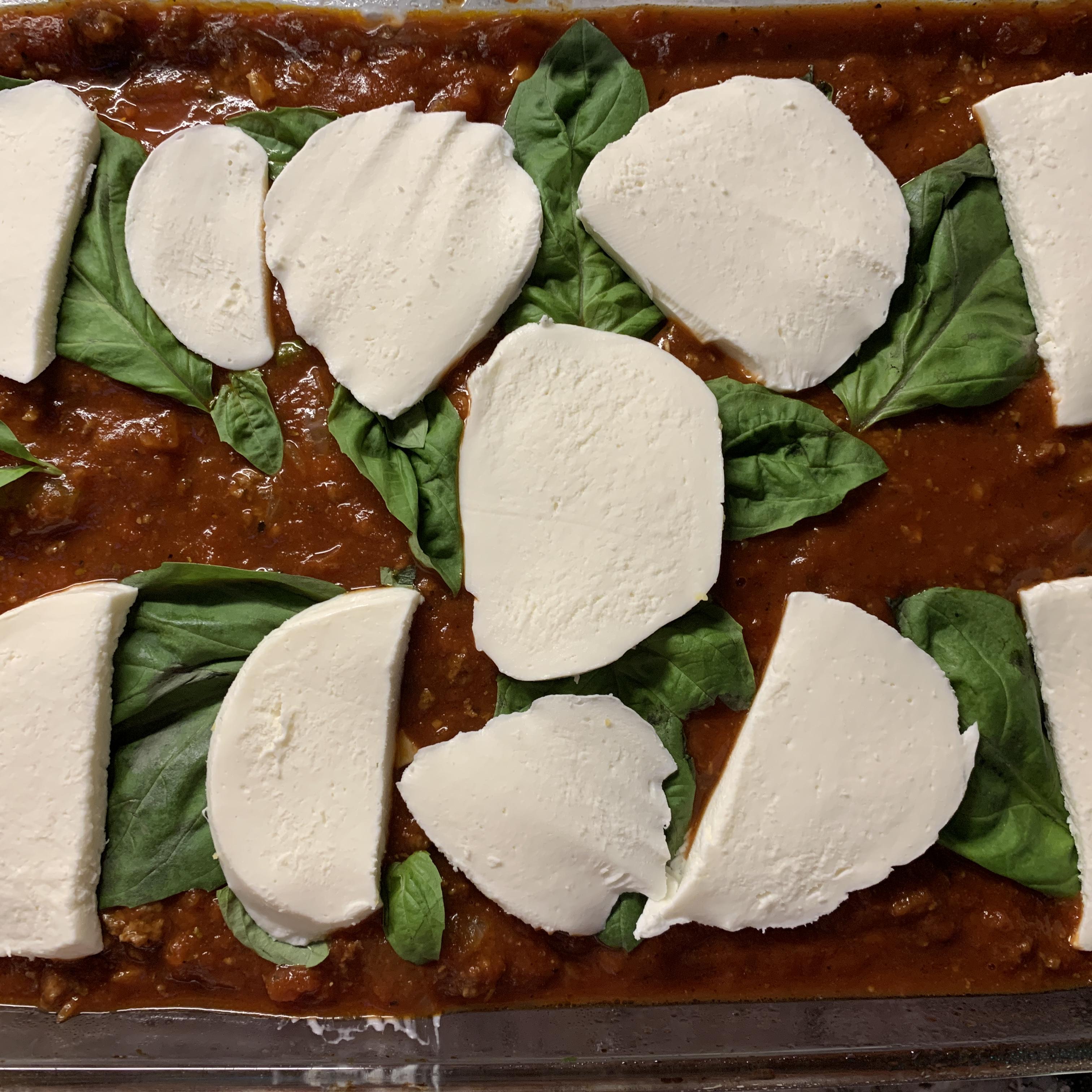 Angie's Polenta Lasagna Zoeandthemuffin