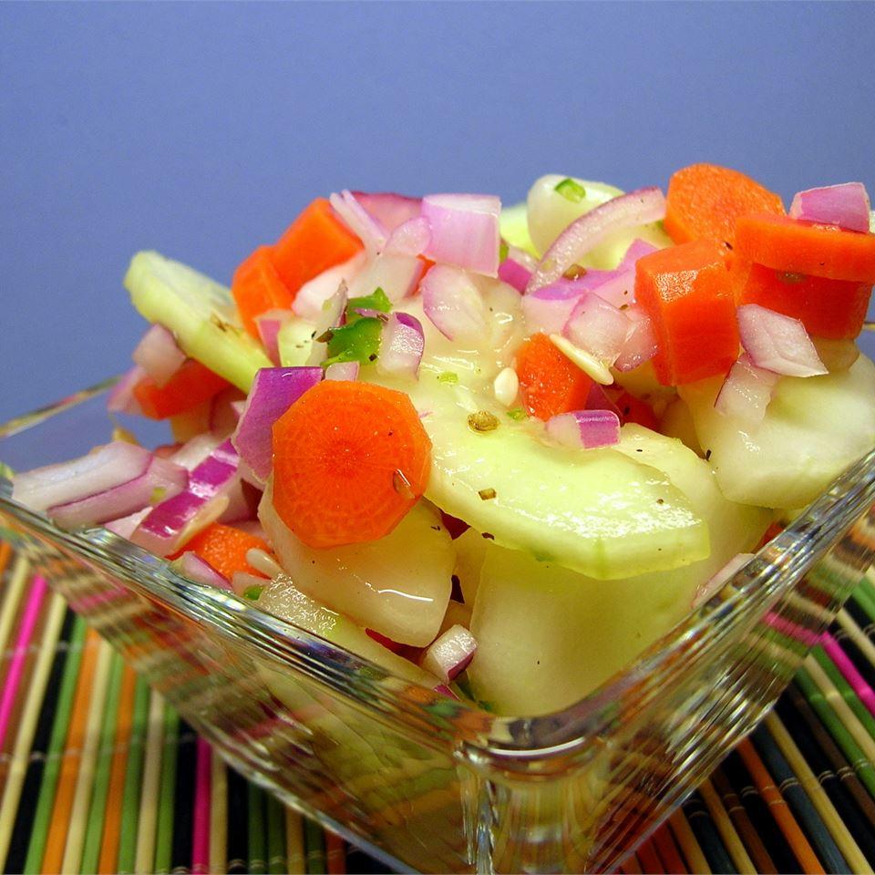 Zippy Cucumber Salad Cheryl