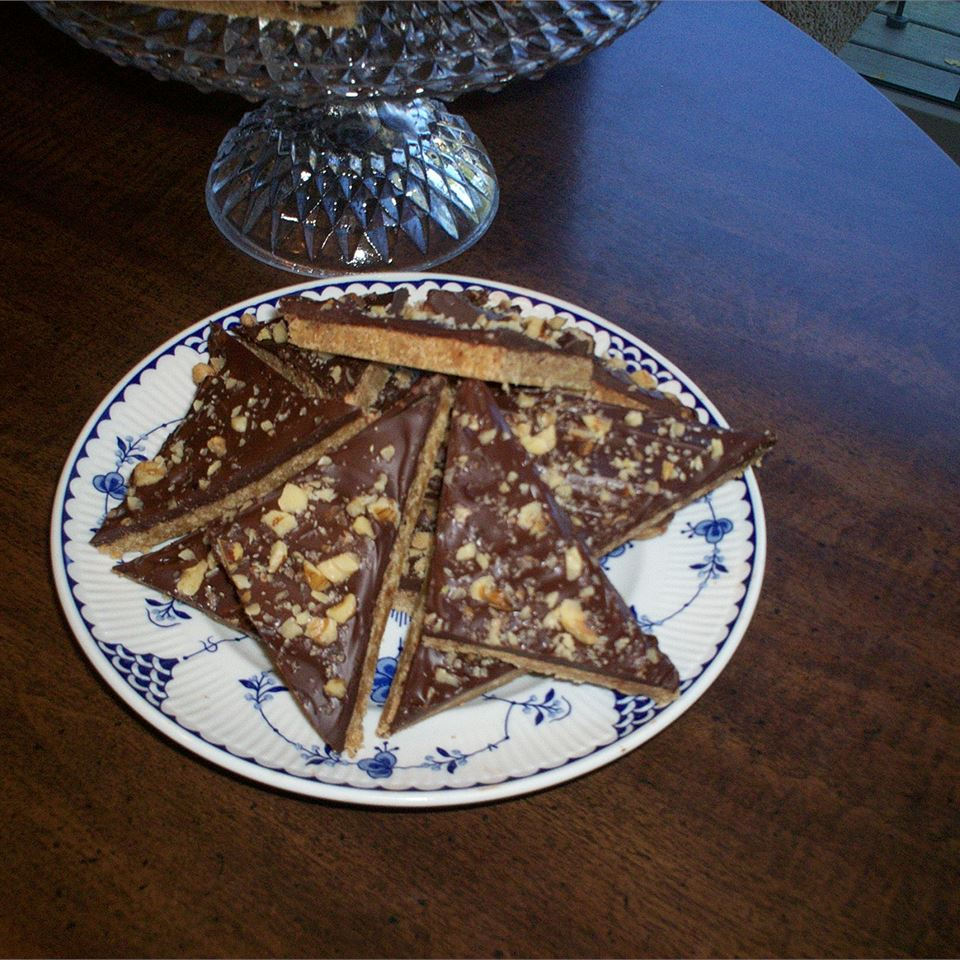 Maple Toffee Bars
